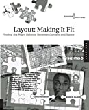 Layout - Making It Fit, Carolyn Knight and Jessica Glaser, 1592531857