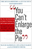 """You Can't Enlarge the Pie"", Max H. Bazerman and Jonathan Baron, 0465006310"