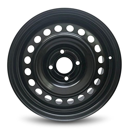 - Road Ready Car Wheel For 2007-2012 Nissan Sentra 16 Inch 4 Lug Steel Rim Fits R16 Tire - Exact OEM Replacement - Full-Size Spare
