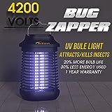 Tysonir Bug Zapper, Mosquito Zappers, Suitable for