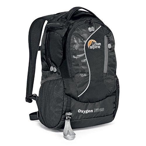 Lowe Alpine Oxygen ND20 Day Pack (Black/Black), Outdoor Stuffs