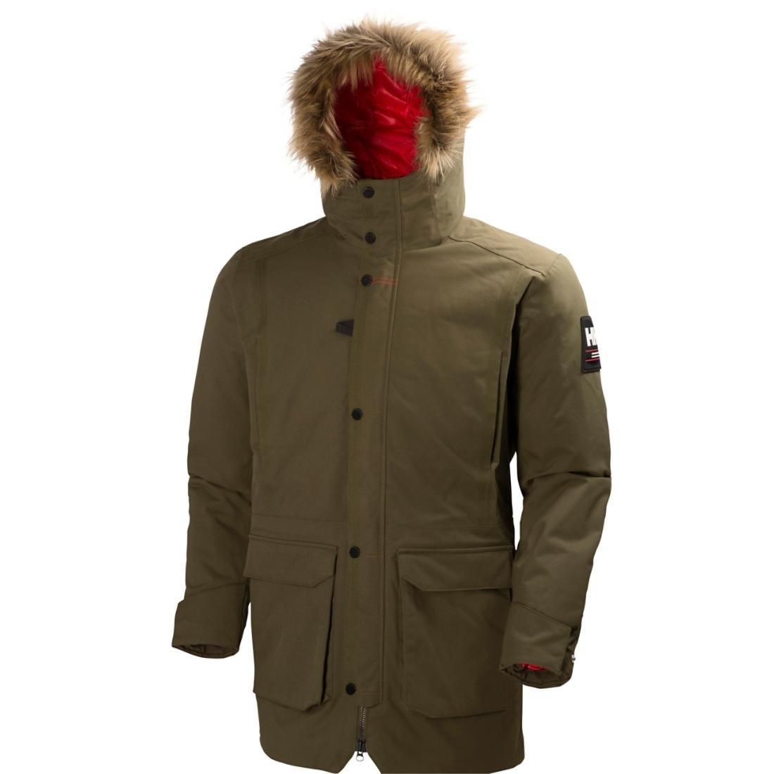 Amazon.com: Helly Hansen Men's Norse Parka Jacket, Olive Night, S ...