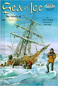 Book Sea of Ice: The Wreck of the Endurance (Step into Reading)