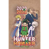 """2020 - 2022 Hunter x Hunter Journal Planner Calendar: For Teens, Weebs, Anime Fans, and Adults (5.5"""" x 8.5"""")"""