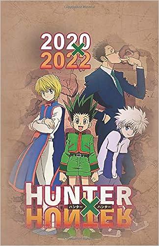 Hunter Fall 2022 Calendar.Amazon Com 2020 2022 Hunter X Hunter Journal Planner Calendar For Teens Weebs Anime Fans And Adults 5 5 X 8 5 9781660596928 Inc Weeb Notebooks Books