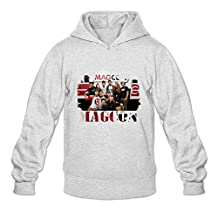 Men's Magcon Boys Poster Hooded Sweatshirt Ash