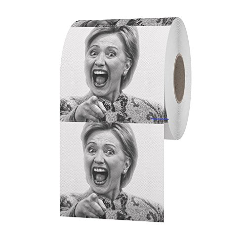 Funny Toilet Paper Hillary Clinton Toilet Paper Roll Hillary Clinton Gag - Gift Card The Greene