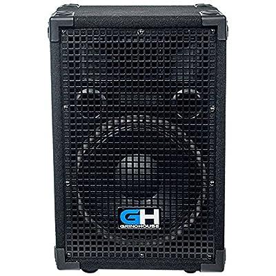 Grindhouse Speakers - GH10L - Passive 10 Inch 2-Way PA/DJ Loudspeaker Cabinet - 600 Watt Full Range PA/DJ Band Live Sound Speaker by Grindhouse Speakers