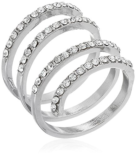 silver coil ring - 2