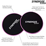 iheartsynergee Power Pink Core Sliders. Dual