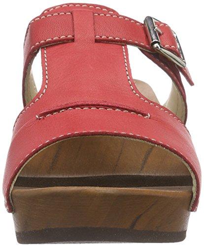 Woody Kerstin - Mules Mujer rojo (rojo)