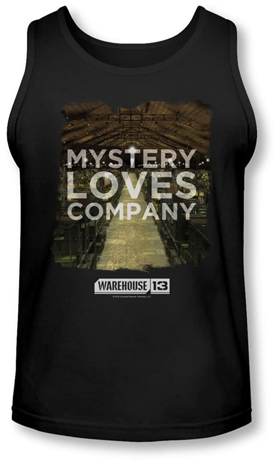 Warehouse 13 - Mens Mystery Loves Tank-Top