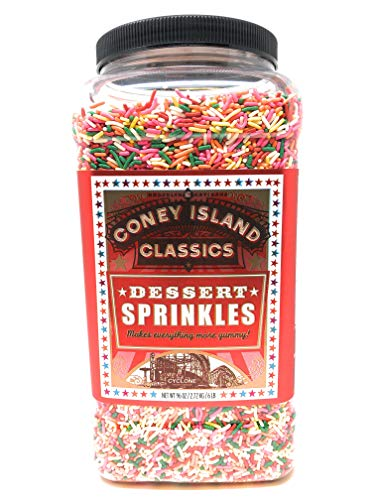 Brooklyn Artisans Premium Gourmet Decorative Dessert Rainbow Sprinkles