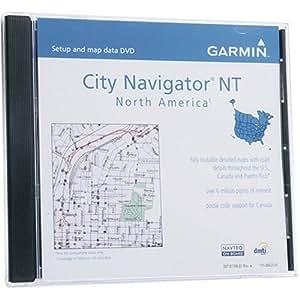 Garmin City Navigator - Mapas del norte de EE. UU., Canadá y México en DVD