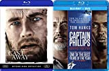 Tom Hanks Captain Philips DVD + [Blu-ray] & Cast Away Double Feature movie set