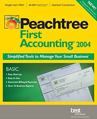 Peachtree First Accounting 2004