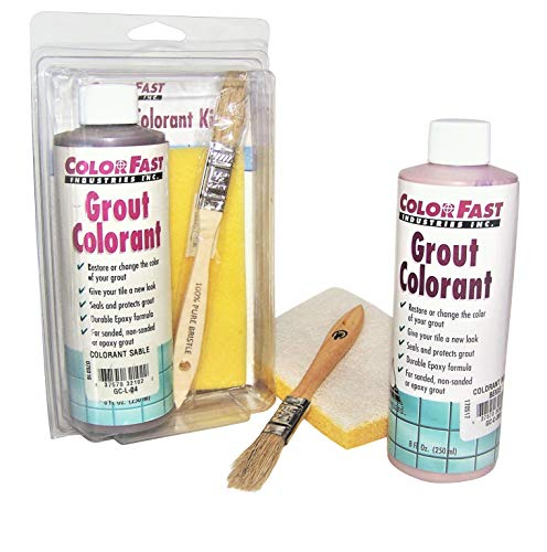 - Colorfast Grout Colorant Kit- New Taupe #185 (Custom BP color)