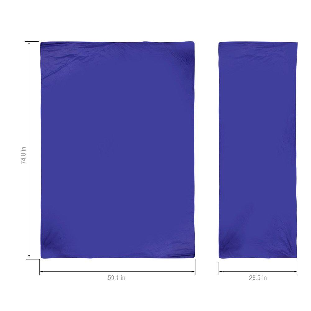 Tenn Well Sleeping Bags Large Lightweight Waterproof Rectangular Bag For Camping Hiking Dark Blue Amazoncouk Sports Outdoors