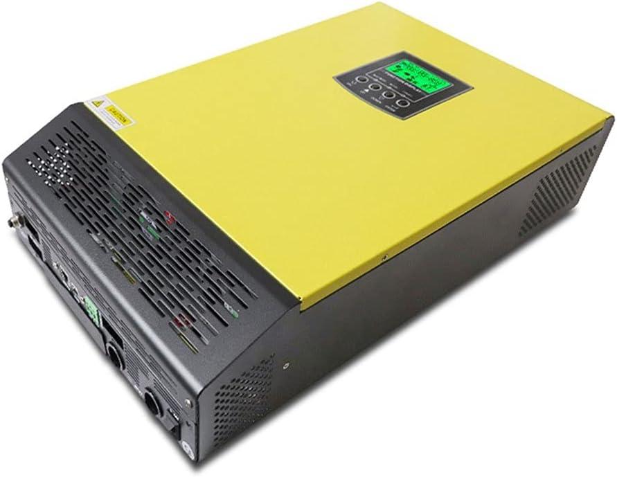 Micro Inverter 110V Inversor Solar híbrido 3kVA 2400W Off Off Inverter DE LA INVERTIR 24V 120V 80A MPPT Inversor de Onda sinusoidal Pura 60A Cargador de CA Grid Inverter (Color : ISolar MLV 3K)