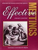 Effective Meetings, Jeremy Comfort, 0194570908