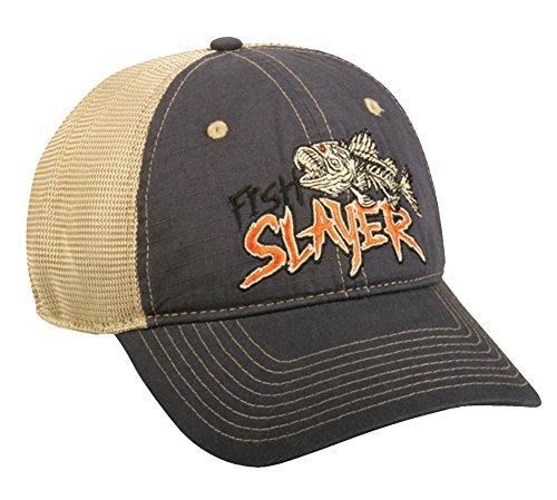 Outdoor Cap Fish Slayer Cap, Navy/Khaki