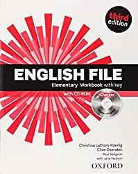 English File Elementary Workbook with Key (1Cédérom)