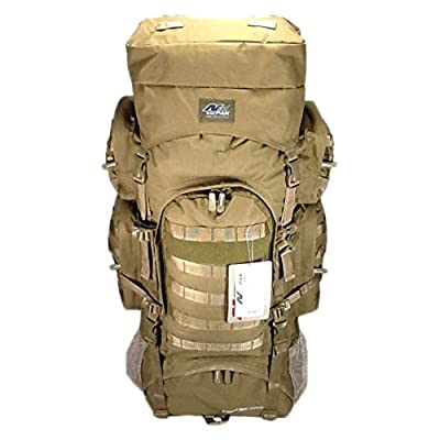 "34"" 5200 cu. in. Tactical Hunting Camping Hiking Backpack THB001 TAN"