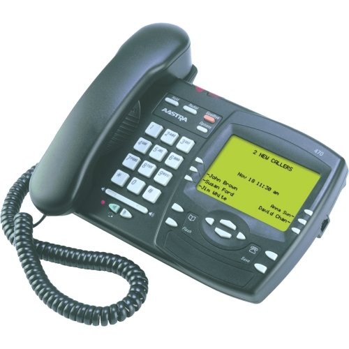 Aastra 470 Standard Analog Phone - Charcoal A1261-0000-10-00
