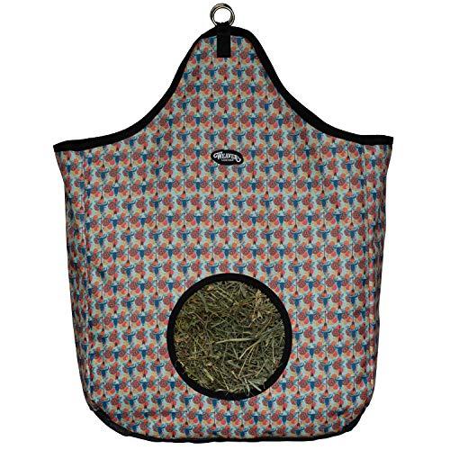 Weaver Leather Hay Bag, Floral Steer