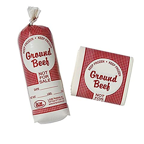 2 lb. Ground Beef Bags - 25 Count - 2 Lb Beef