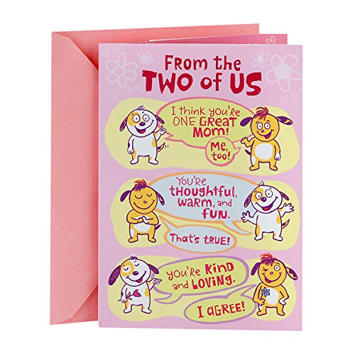 Hallmark Mother's Day Funny Greeting Card From Both (Loved A Lot)