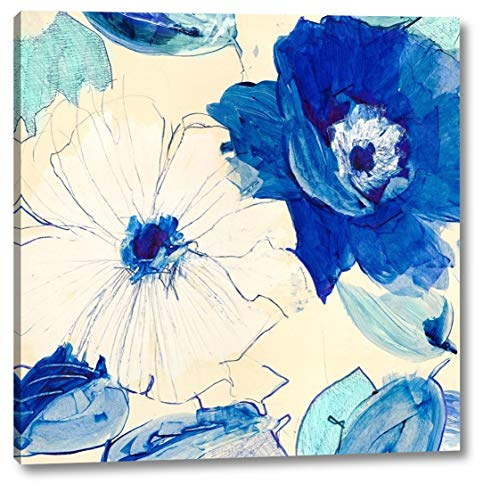 - Toile Fleurs I by Kelly Parr - 40