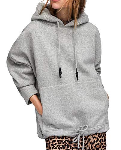 451 Wear Marsupio Donna Felpa Zara Con 1025 For X5edqdgwnp A Tasca qwIFRwOWga