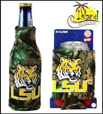 LSU TigersリアルツリーカモCan & Bottle Koozie Bottle Koozie & B0043EPG76, 吾妻郡:7adbbffd --- mens-belt.xyz