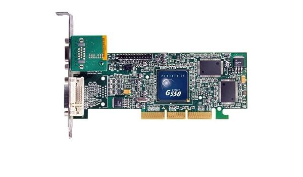 Matrox G55 - Tarjeta gráfica pasiva (AGP, 32MB de memoria ...