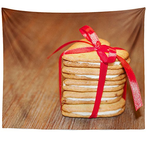 Westlake Art - Food Baking - Wall Hanging Tapestry - Picture Photography Artwork Home Decor Living Room - 68x80 Inch (0AEA2) ()