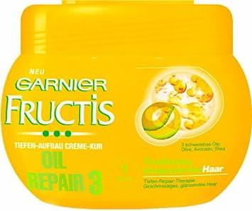 garnier fructis oil repair tiefen aufbau repair creme kur haarkur