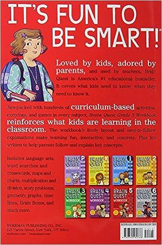 Brain Quest Workbook: Grade 5: Bridget Heos, Matt Rockefeller ...