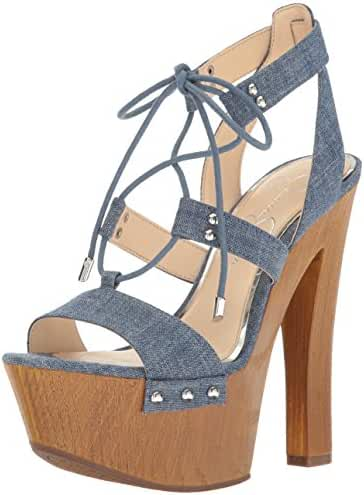 Jessica Simpson Women's Doreena Heeled Sandal
