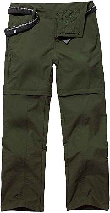 Womens Casual Outdoor Quick Dry Pants Convertible Hiking Camping Fishing Zip Off Stretch Cargo Trousers