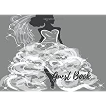 Guest Book: Bridal Shower Book, For Over 200 Guests. Free Layout To Use as you wish for Names & Addresses, or Advice, Wishes, Comments or Predictions.