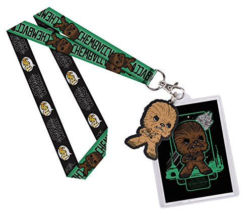 Funko Lanyard: Star Wars Chewbacca Toy Figures