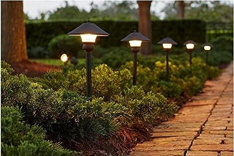 Amazon.com: Kit de bronce luz exterior LED de baja tensión ...