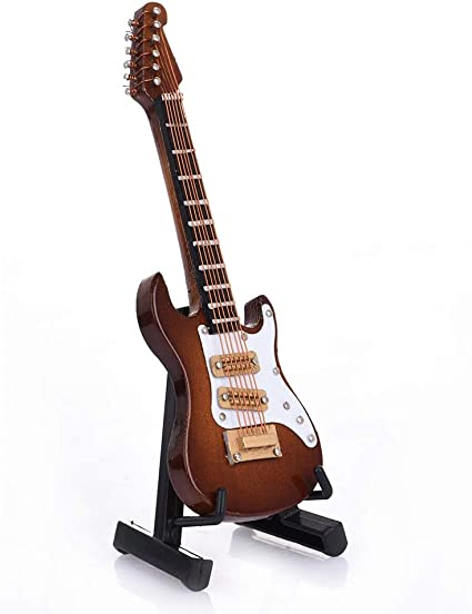 Guitarra de 10 cm Mini guitarra eléctrica modelo guitarra ...