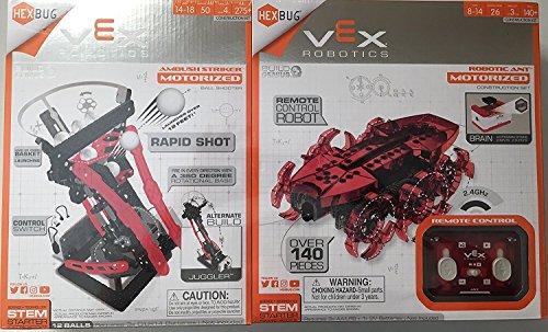HEX Bug Vex Robotics 2 Pack Value (Ambush Striker and Robotic Ant)