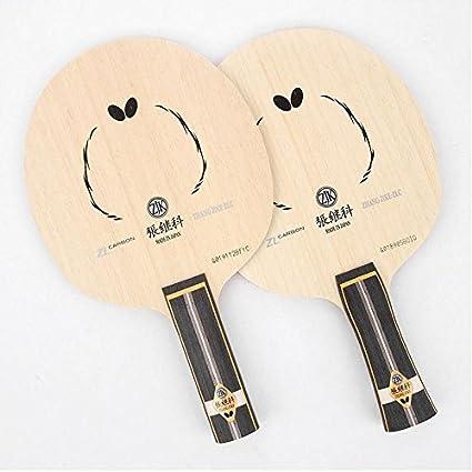 Amazon Com 1pcs Butterfly Zhang Jike Super Zlc Blade Shakehand St