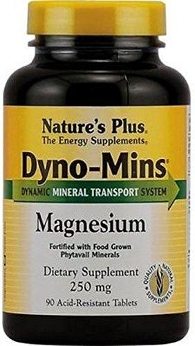 Dyno-Mins Magnesio 90 comprimidos de 300 mg de Natures Plus