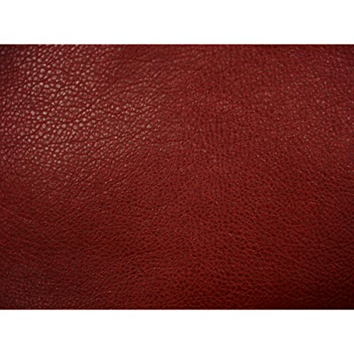 (Softline Red Leather Look Futon Cover Full Size, Proudly Made in USA)