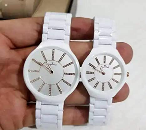 WDXDP Relojes Nueva Marca De Moda De Cerámica Blanca De Moda ...