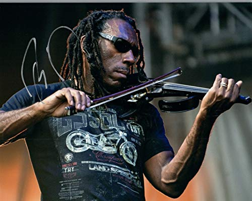 Autographed 8x10 Photo Band - Boyd Tinsley Signed Autographed 8x10 DMB The Dave Matthews Band D